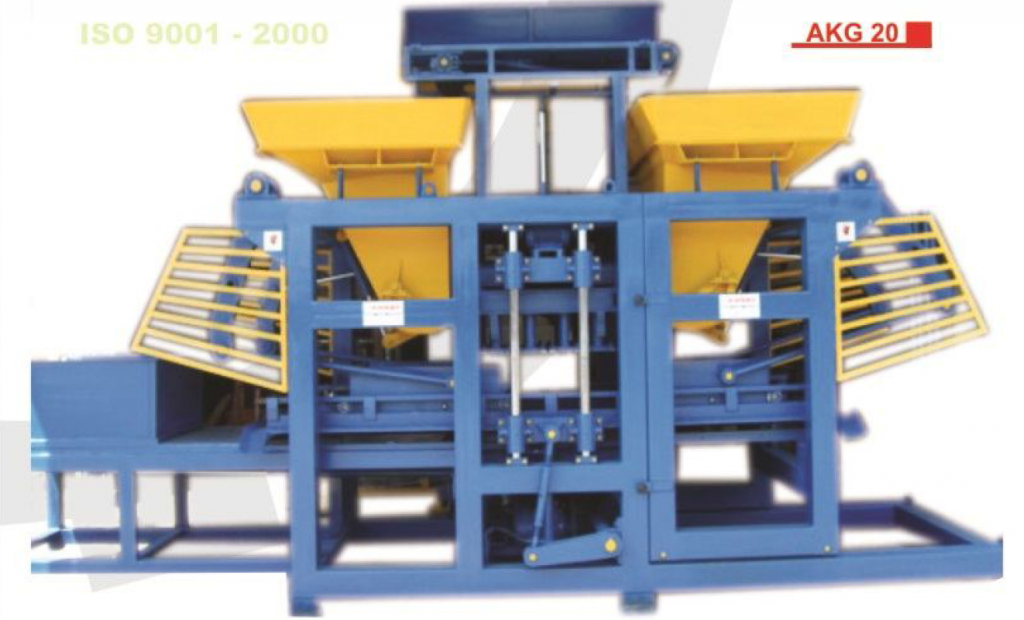 Cement Block Plant Machines : Concrete blocks bricks paving stone machines akgül group